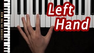 getlinkyoutube.com-This Easy Pattern Will Greatly Improve Your Left Hand Piano Playing