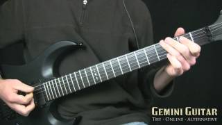 getlinkyoutube.com-Power Chord Mechanics - Melodic Metal Riffing - Etude #03