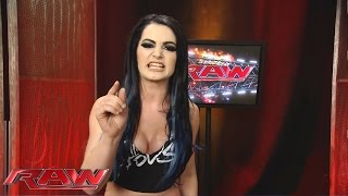 Paige accuses Charlotte of cheating: Raw, November 23, 2015