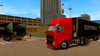 getlinkyoutube.com-Euro Truck Driver - Android HD Gameplay Video