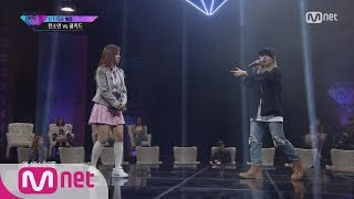 "[UNPRETTY RAPSTAR3]""You only beat me with one, Unpretty!"" Jeon So Yeon vs Coolkid @Diss Battle EP.04 width="