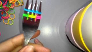 getlinkyoutube.com-Vissengraat met 2 vorken haken