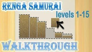 renga samurai walkthrough 1-15