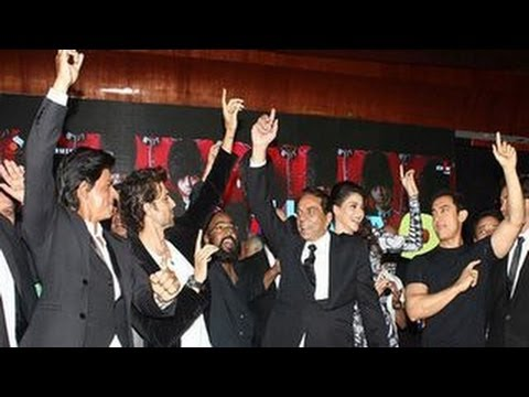 Shahrukh, Hrithik & Aamir Khan at Yamla Pagla Deewana 2 Music Launch