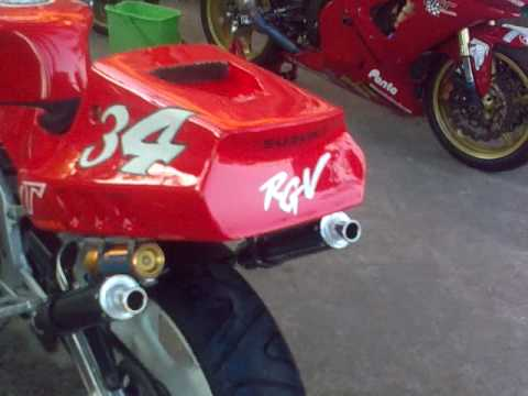 My suzuki RGV 250 SP - 2ª part.