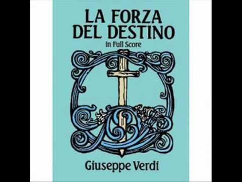 Renata Tebaldi & Giuseppe Modesti. Leonora & Guardiano. Atto II.
