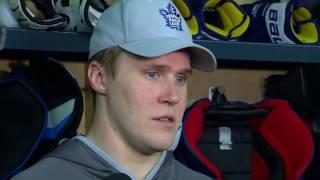 getlinkyoutube.com-Maple Leafs Practice: Jake Gardiner - January 20, 2017