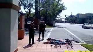 getlinkyoutube.com-Santa Ana Police Aim Tasers at Young Females On Bikes For Refusing To Answer Questions