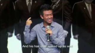 Wonho Chung -  One of The Best Arabic Stand Up Comedians..!!!