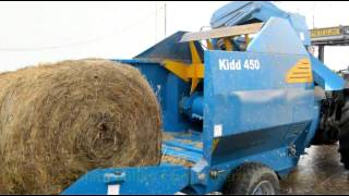 Kidd 450TC Bale Shredder