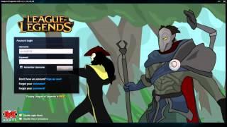 getlinkyoutube.com-Corki UnCoptered - Custom Login Screen League of Legends