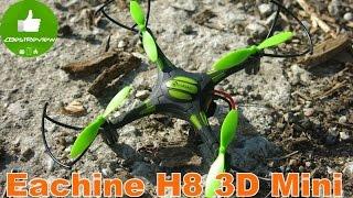 ✔ Eachine H8 3D Mini - квадрокоптер, который может летать в инверте! Banggood