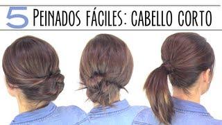 getlinkyoutube.com-Peinados fáciles para cabello corto o media melena