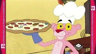 LA PANDILLA DE LA PANTERA ROSA ♦ Pizza Rosaroni ♦ Audio Español Latino width=