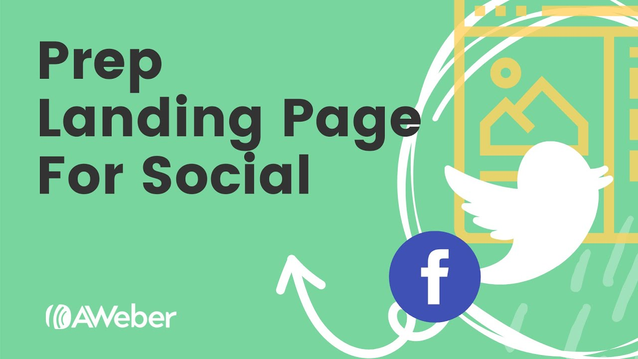 Customize Your Landing Page with Social Details