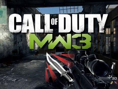 MW3 Throwing Knife Montage Gameplay (Modern Warfare 3 Multiplayer Gameplay)