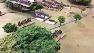getlinkyoutube.com-Second Manassas 6mm Wargame