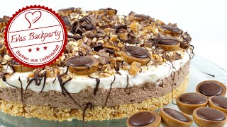 getlinkyoutube.com-cremige Toffifee - Torte / ohne zu Backen