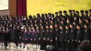 getlinkyoutube.com-赤穂中学校 卒業記念合唱 手紙 拝啓 15の君へ
