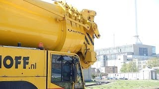 getlinkyoutube.com-Super Schwertransport Liebherr und Demag
