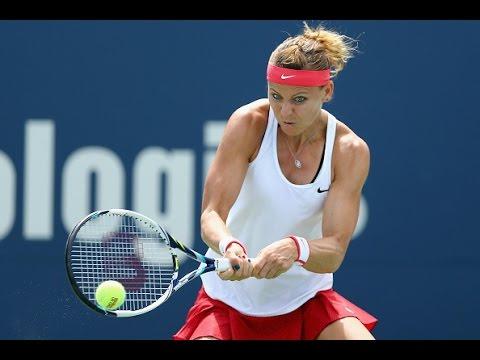 2015 Connecticut Open Semifinals | Lucie Safarova vs Lesia Tsurenko | WTA Highlights