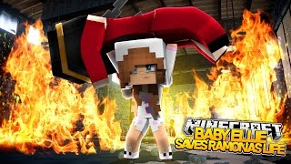 getlinkyoutube.com-Minecraft Little Kelly : BABY ELLIE SAVES RAMONAS LIFE! (Roleplay)