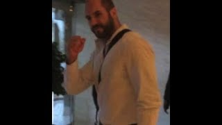 getlinkyoutube.com-WWE Superstars in Riyadh Hotel 2014