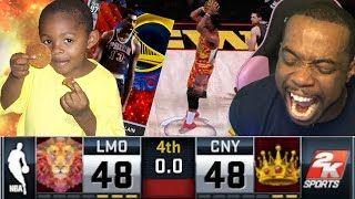 getlinkyoutube.com-CRAZY BUZZER BEATER! Vs 10 Year Old Trash Talker! NBA 2k16 MyTeam Diamond Wilt Debut!