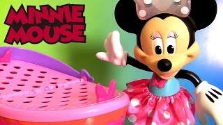 Cesta de Piquinique da Minnie Zippy Toys Play-Doh Surpresa   Disney Minnie Mouse Picnic Basket Toy
