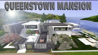 getlinkyoutube.com-The Sims 3 Queenstown Luxury Mansion