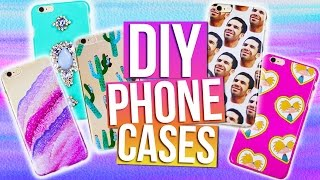 getlinkyoutube.com-DIY PHONE CASES | Tumblr, 90's, Drake, Urban Outfitters & More!