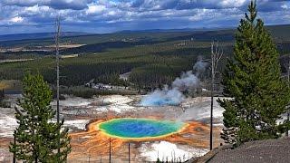 Yellowstone National Park, USA in 4K (Ultra HD)