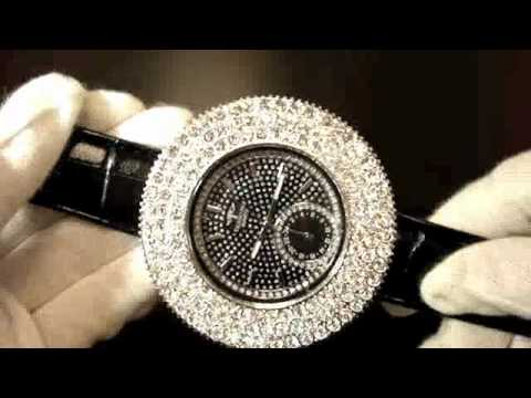 Jumbo 3 Row Iced Out Bezel Watches - Bling Bling