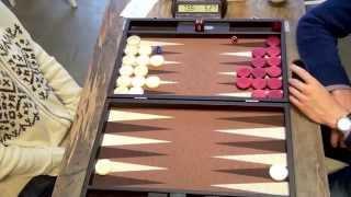 getlinkyoutube.com-2014 Leuven Open Backgammon: Round 3: Tasnadi - Dooms