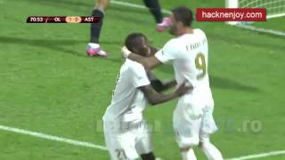 getlinkyoutube.com-Olympique Lyon   Astra Giurgiu 1 2  Europa League All Goals 21 082014