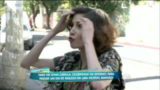 getlinkyoutube.com-Rica! Camilla Uckes banca a sofisticada e passa o dia com a milionária Cozete Gomes