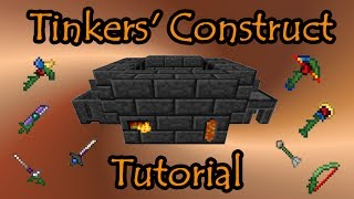 getlinkyoutube.com-Tinkers' Construct Tutorial -- Basics to Endgame Tools & Weapons