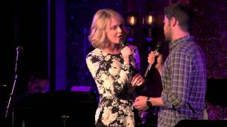 "getlinkyoutube.com-Jeremy Jordan and Ashley Spencer - ""Beauty and the Beast""  (Broadway Loves Celine Dion)"