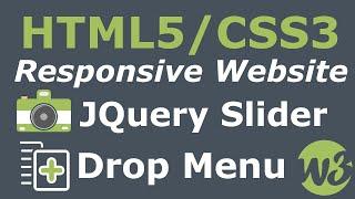 getlinkyoutube.com-How To Make A Website Start To Finish - Responsive HTML5/CSS3, Image Slider & Drop Down Menu