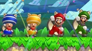 getlinkyoutube.com-New Super Mario Bros U - Coin Battle (All Courses)