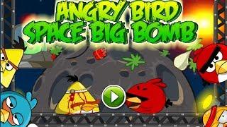 getlinkyoutube.com-Angry Bird Space Big Bomb - Angry Bird Game