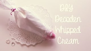 getlinkyoutube.com-DIY Decoden How-To: Make Your Own Decoden Whipped Cream Tutorial
