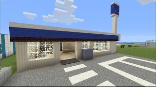 getlinkyoutube.com-【MineCraft】一級建築士を目指して!! 第10話 ~コンビニ/ Convenience store~ 【実況】