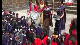 मसूरी गर्ल्स इंटर कॉलेज में सान्वी सोशल वेलफेयर की टीम ने स्कूल छात्राओं को किए बैग वितरित