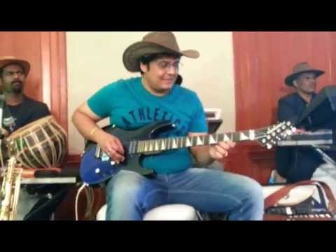 sj prasanna  hindi film namak halal song instrumental on guitar (9243104505)