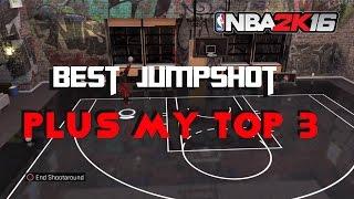 getlinkyoutube.com-Nba2k16 Best Jumpshot in the Game, Plus Top 3