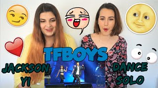 getlinkyoutube.com-TFBOYS - JACKSON YI (易烊千玺) DANCE SOLO REACTION ~Andie & Carlie~