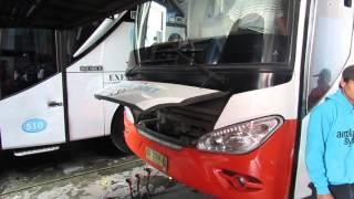 getlinkyoutube.com-Test + Mainin Klakson Telolet - Rosalia Indah NL 448 Jetbus HD