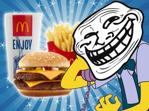 McDonalds - Poo in my Burger - Prank call