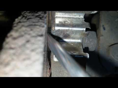 Шорхание спереди, причина: Пружина для тормозных колодок Daewoo Matiz 0.8L-1.0L МКПП и АКПП